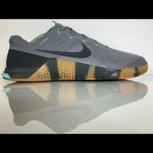 Nike Metcon 2 Grey/Turquoise Cross Trainer Size 11